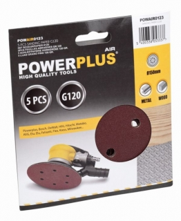 PowerPlus POWAIR0123 5x brusný disk G120