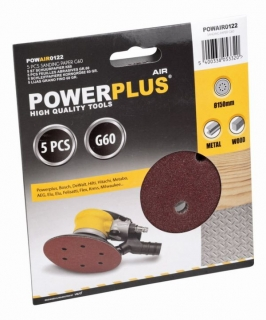 PowerPlus POWAIR0122 5x brusný disk G60