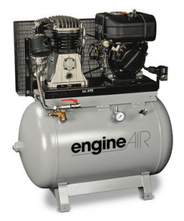 ENGINE AIR EA7/270D diesel naftový kompresor 14bar, 5,5kW, 270l