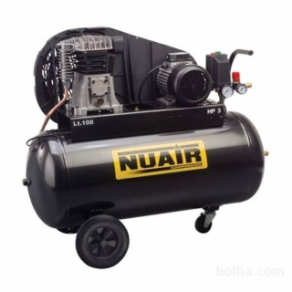 NUAIR B2800B/100 CT3 TECH profi olejový kompresor 400V