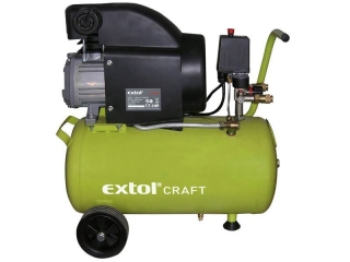 EXTOL CRAFT, 418200 Kompresor olejový, 1500W, 24l
